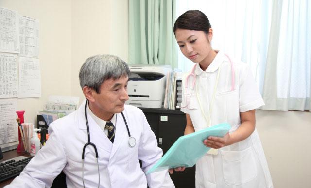医師と看護婦